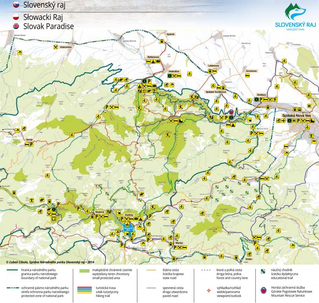 Slovensky Raj Vitajte V Raji